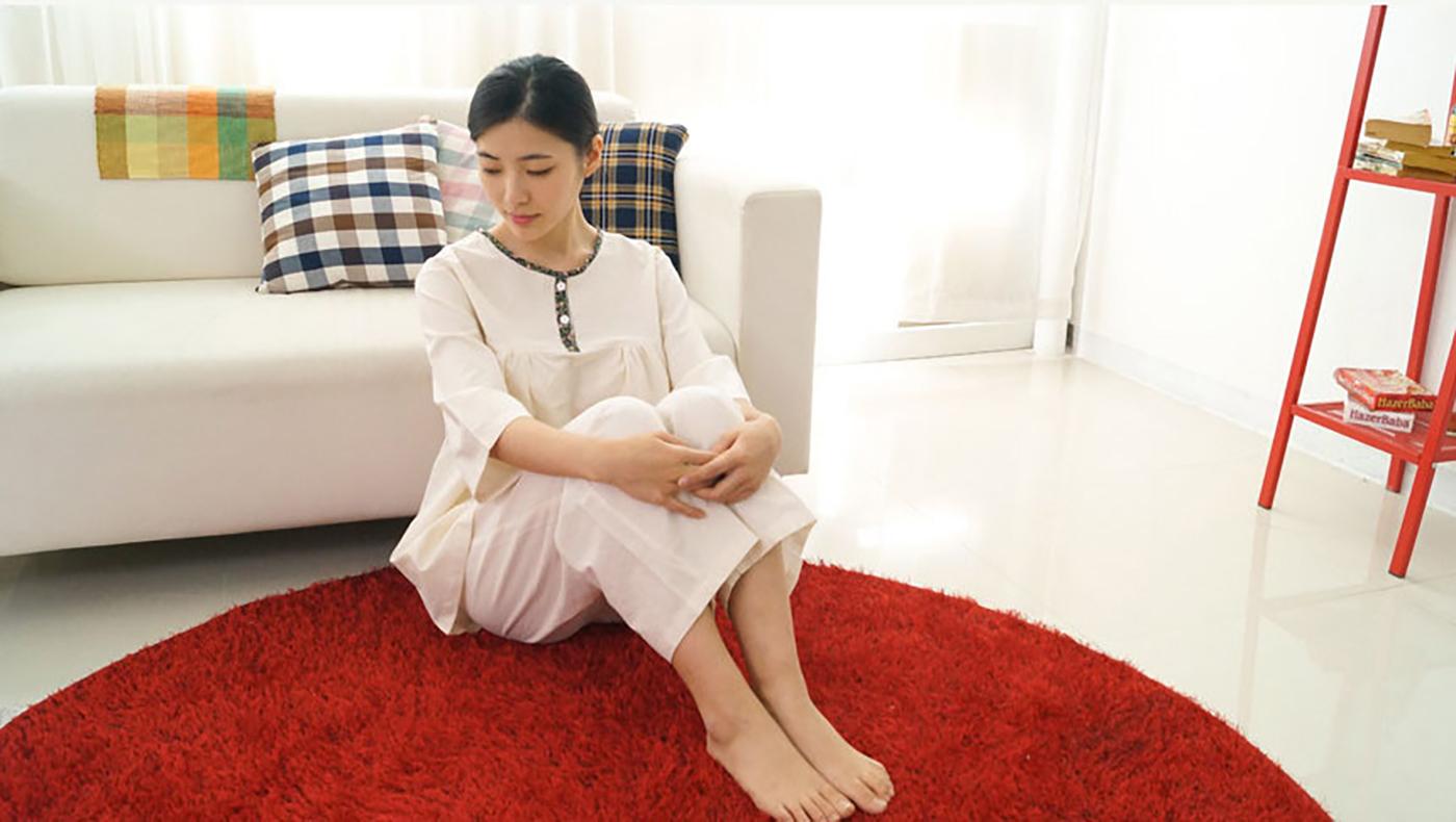 여성 광목잠옷 상하의 실내복 홈웨어(수수한 들꽃) 상세이미지3