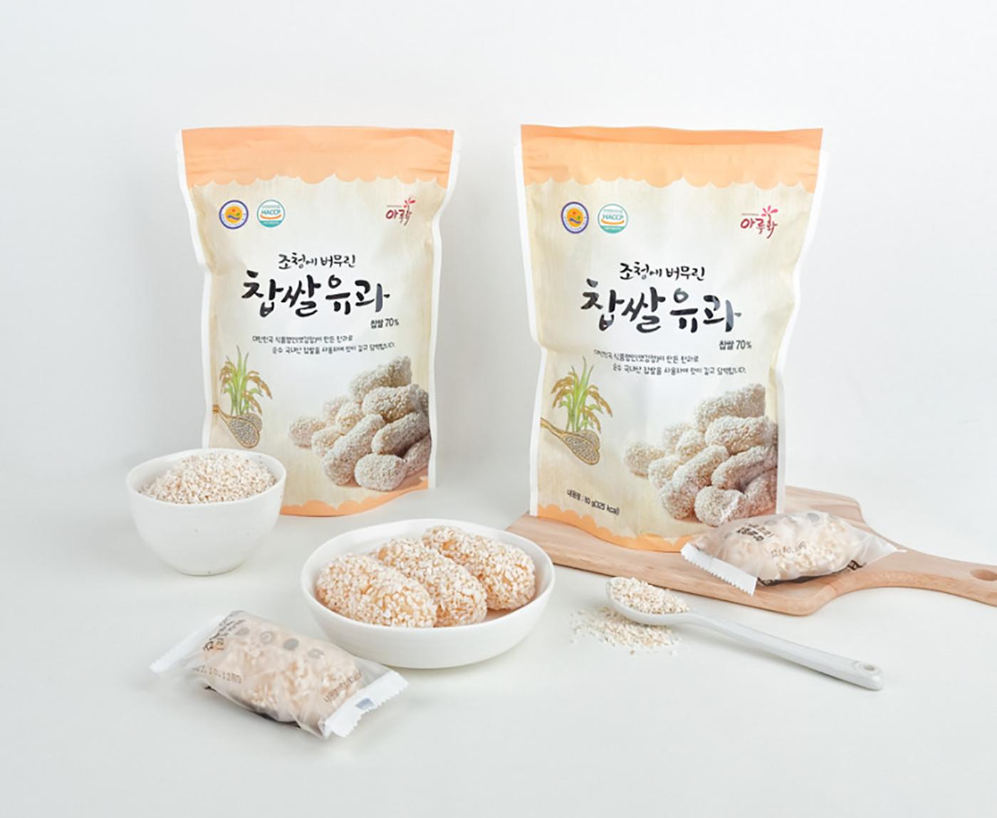 조청에 버무린 찹쌀 유과 (낱개/1kg) 상세이미지2