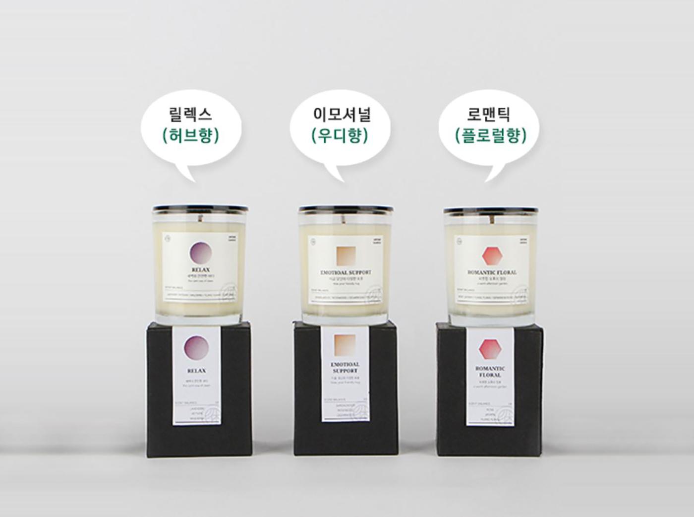 천연 아로마 소이캔들/천연 아로마 100% 사용, 소이캔들 상세이미지4