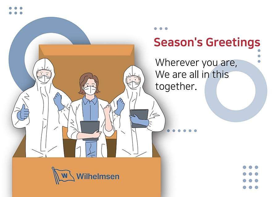 윌헴슨쉽매니지먼트코리아_방역키트 Season's Greetings