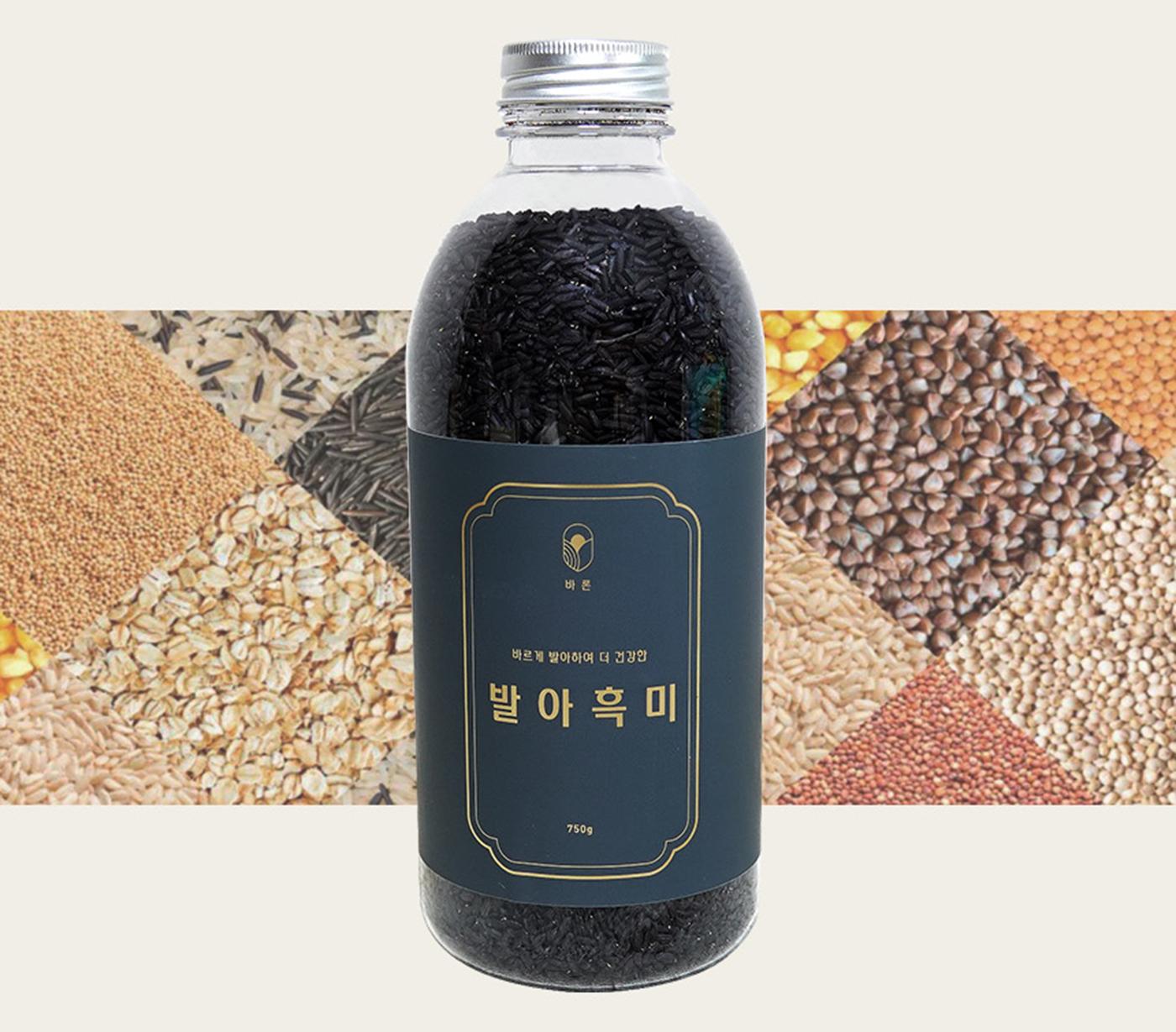 발아흑미 곡물(750g) 상세이미지5