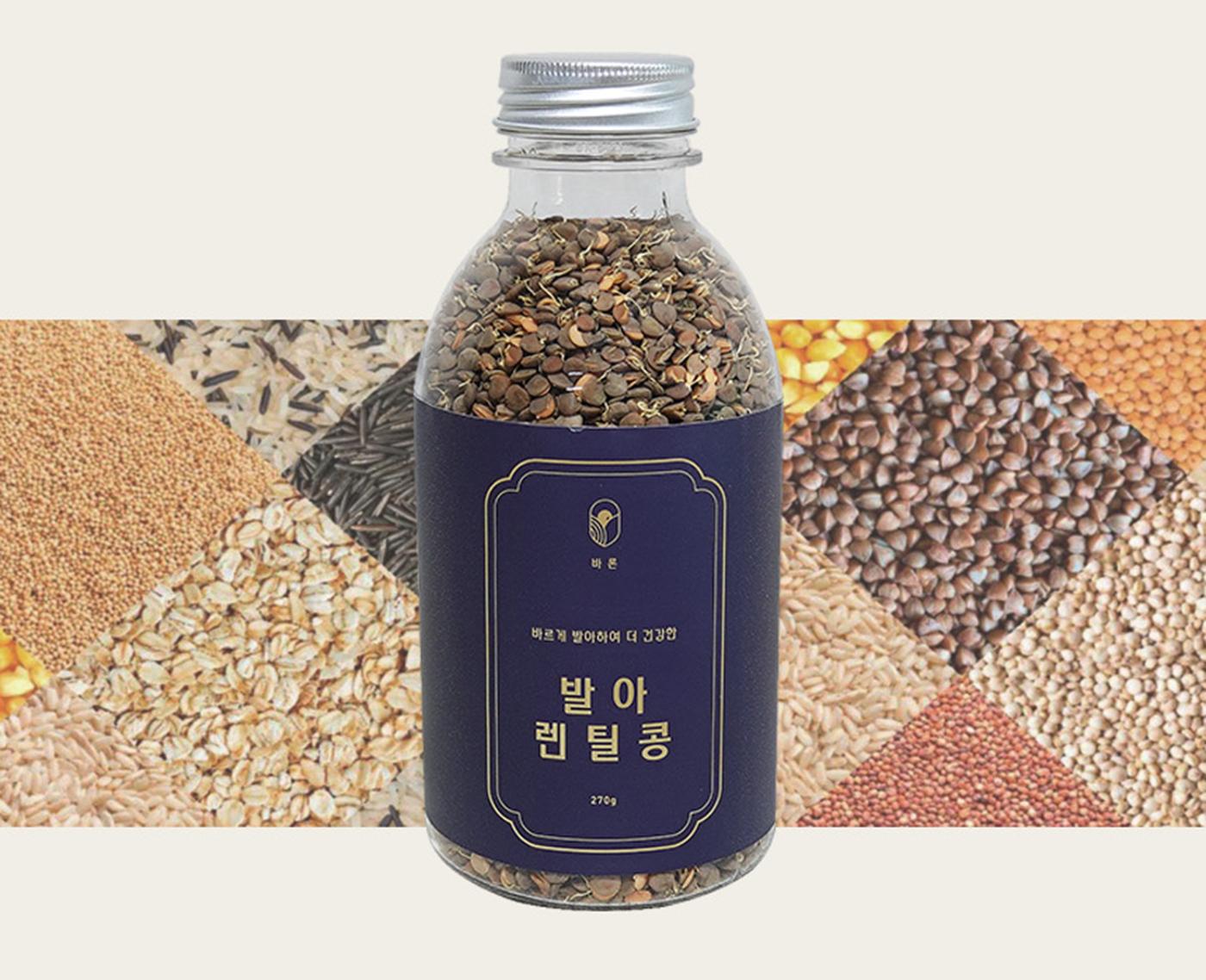발아 렌틸콩 곡물(270g) 상세이미지5