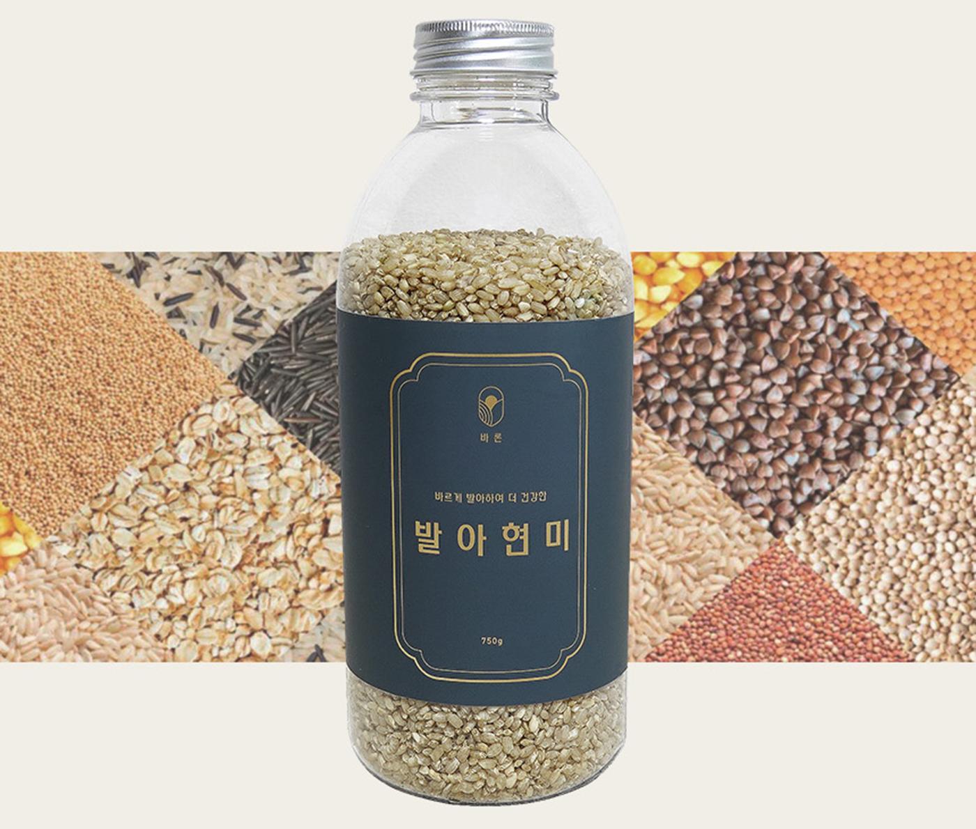발아현미 곡물(750g) 상세이미지5