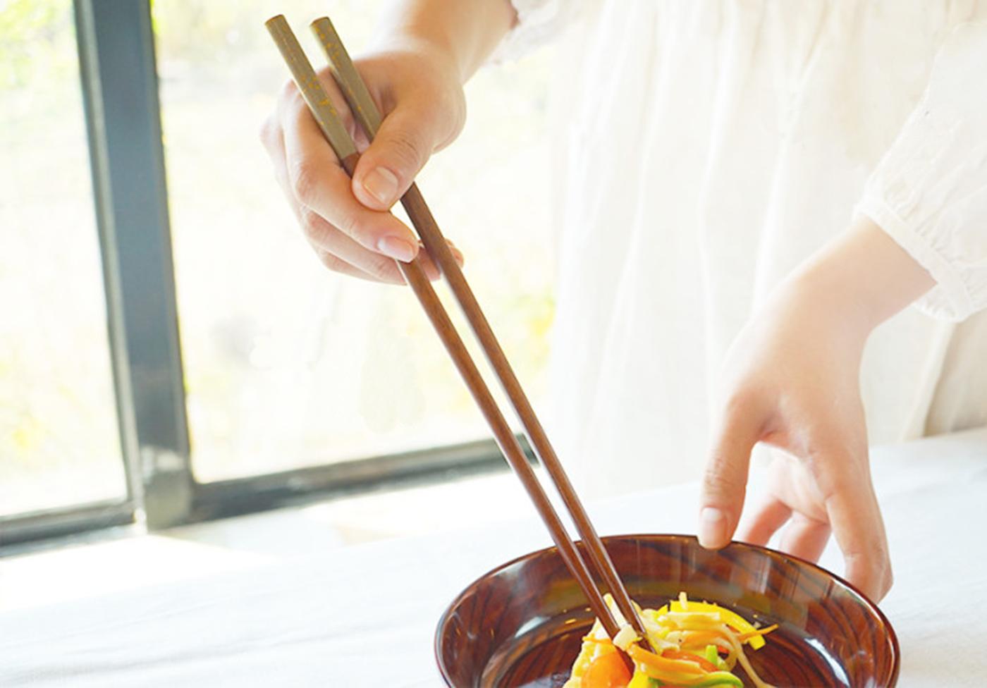 옻칠 나무 요리 젓가락 상세이미지3