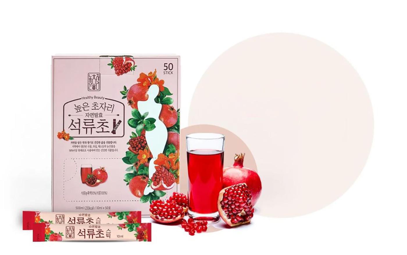 자연발효 발아현미초·석류초·생강초 식초 음료 세트 상세이미지3