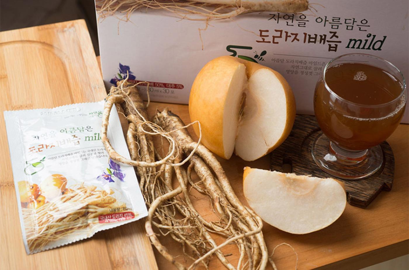 국산 무농약 도라지 배즙 상세이미지1