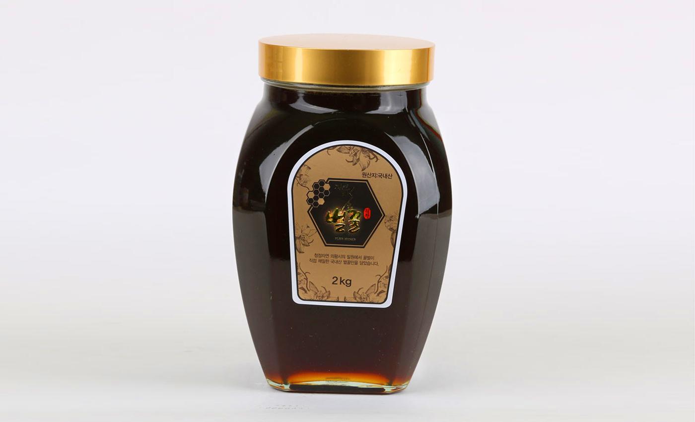 국내산 명품 천연 벌꿀(잡화꿀) 2kg 상세이미지3