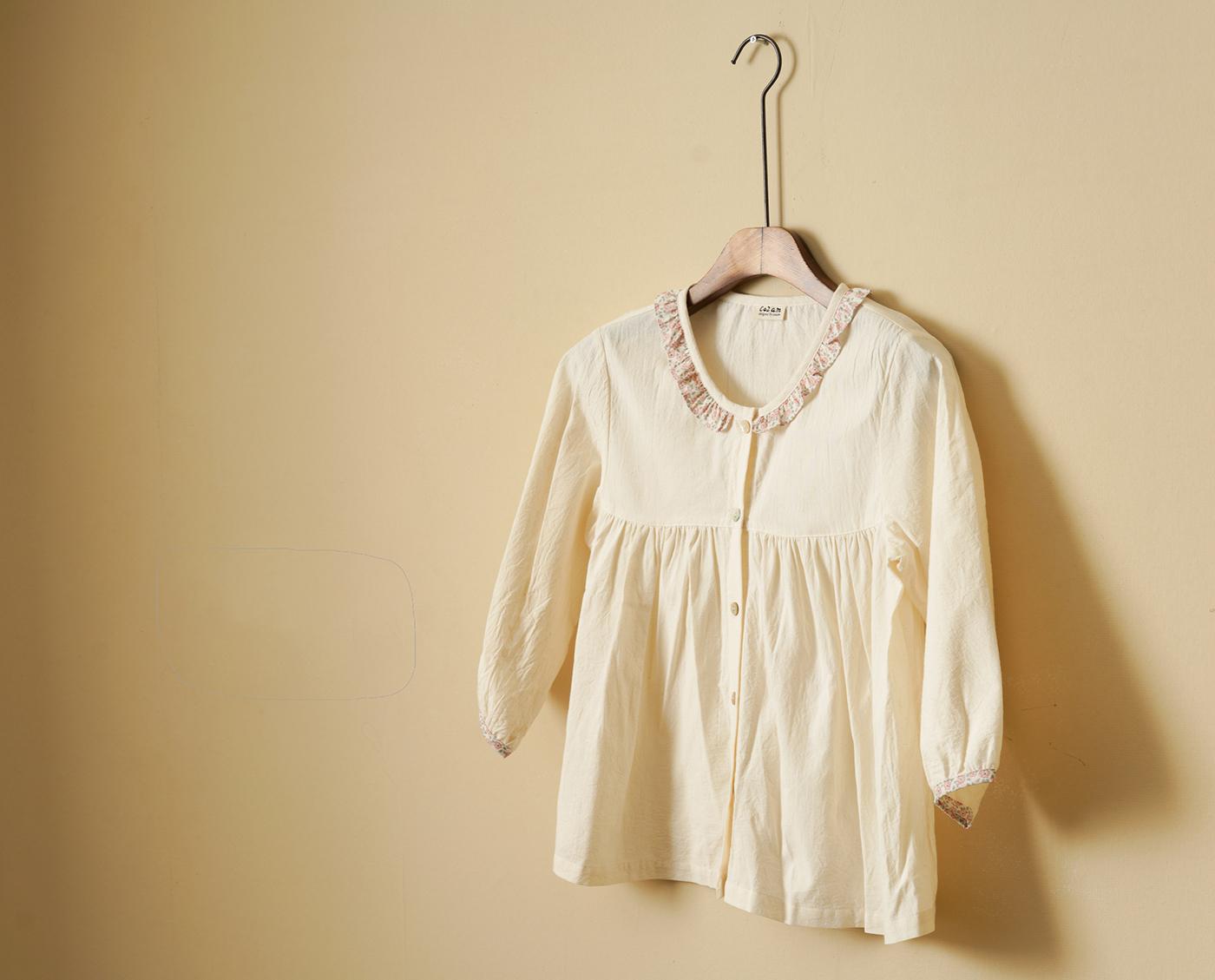 여성 광목 원피스 실내복(핑크)/실내복과 잠옷으로 활용하는 여성 홈웨어 원피스(핑크) 상세이미지2