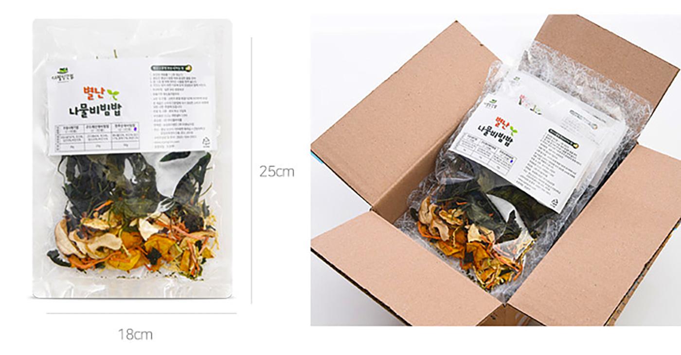 전주 산채 나물 비빔밥 30g 상세이미지4