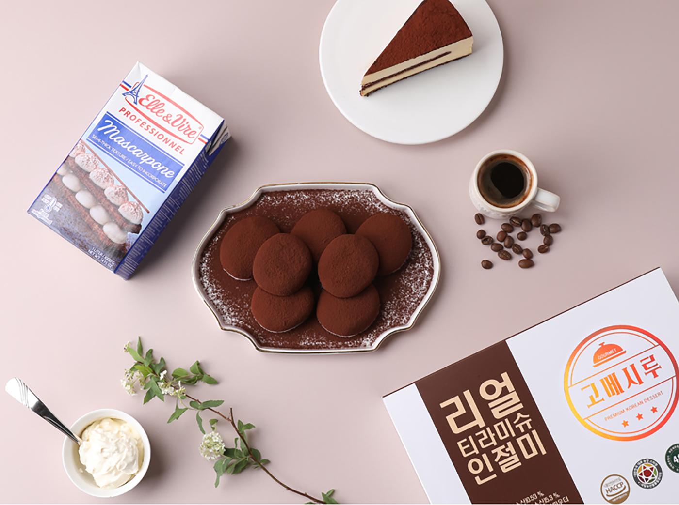 굳지 않는 리얼 티라미슈 인절미 모찌 찹쌀떡 (15입) 상세이미지2