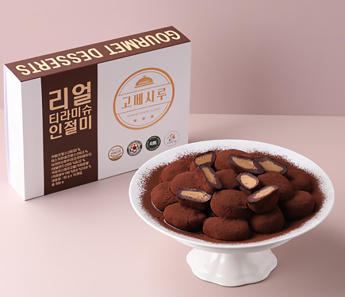 굳지 않는 리얼 티라미슈 인절미 모찌 찹쌀떡 (15입) 상세이미지6