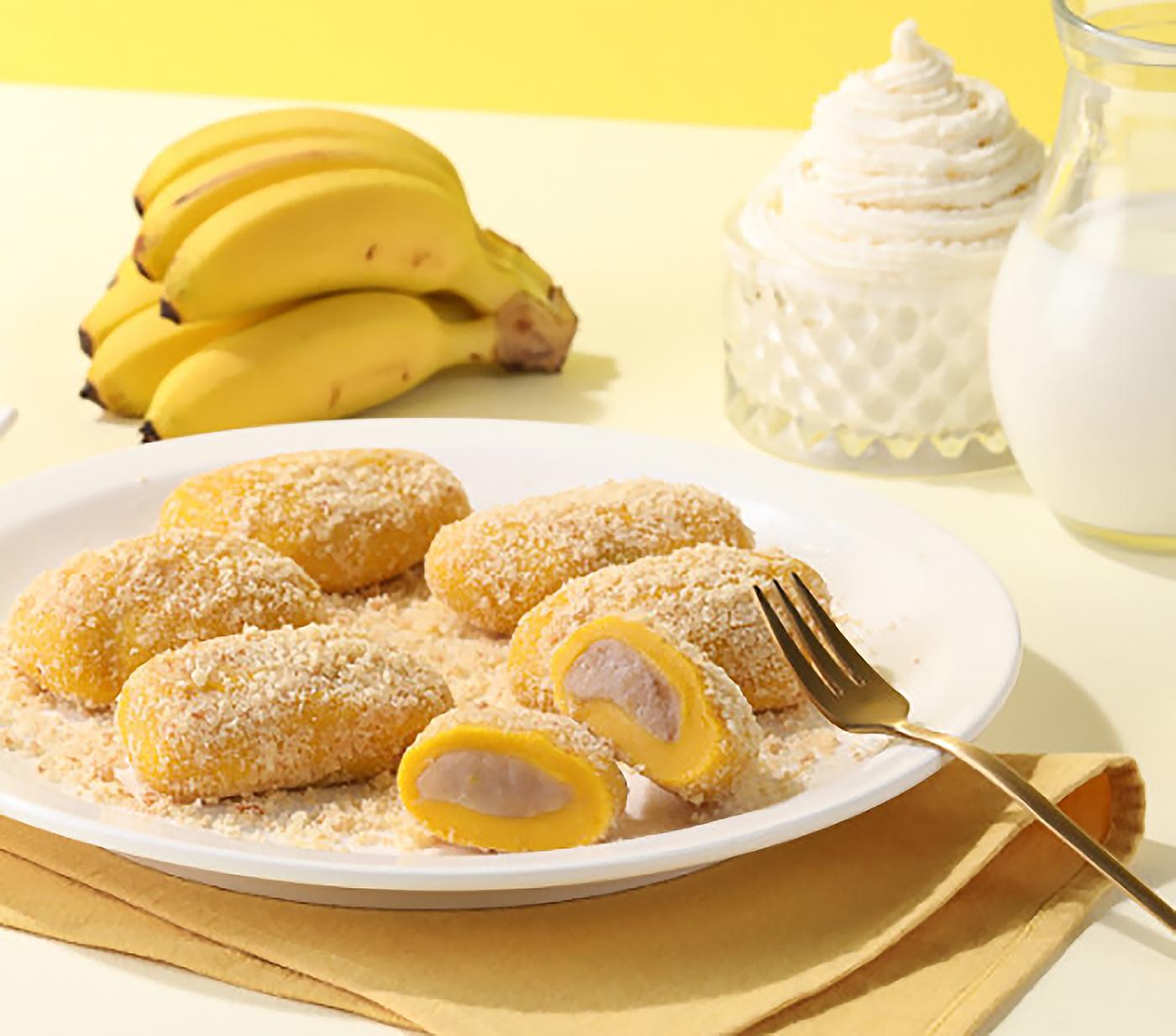 굳지 않는 리얼 바나나 모찌 찹쌀떡 (16입) 상세이미지2