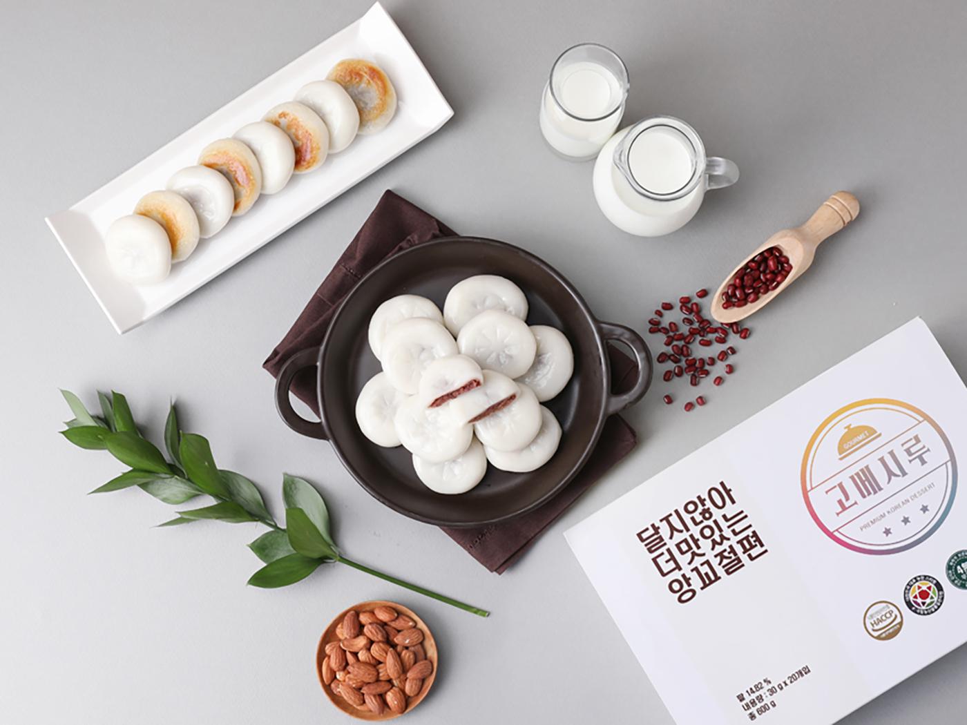 달지 않아 더 맛있는 앙꼬 절편 떡(20입) 상세이미지2