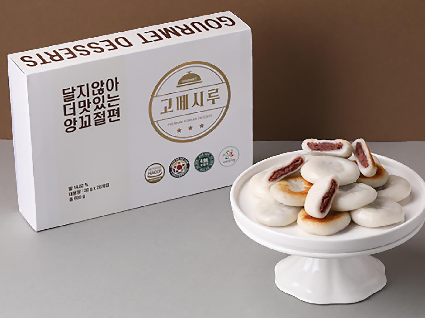 달지 않아 더 맛있는 앙꼬 절편 떡(20입) 상세이미지6