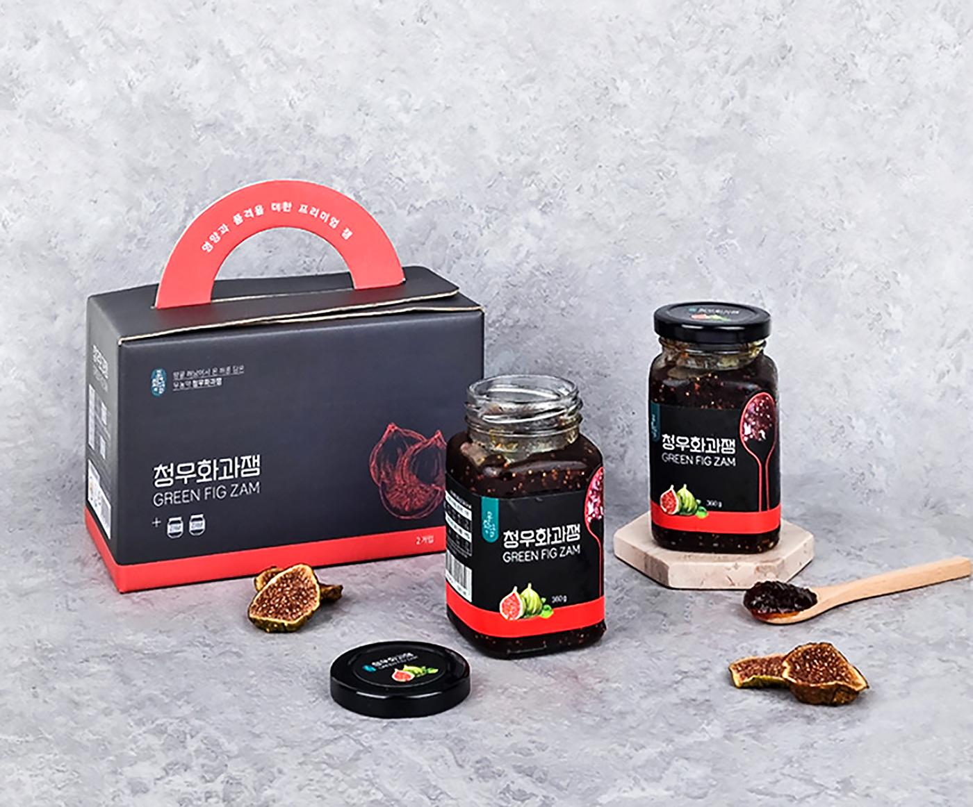 유기농 설탕 청무화과 선물 세트 (360g*2병) 상세이미지1