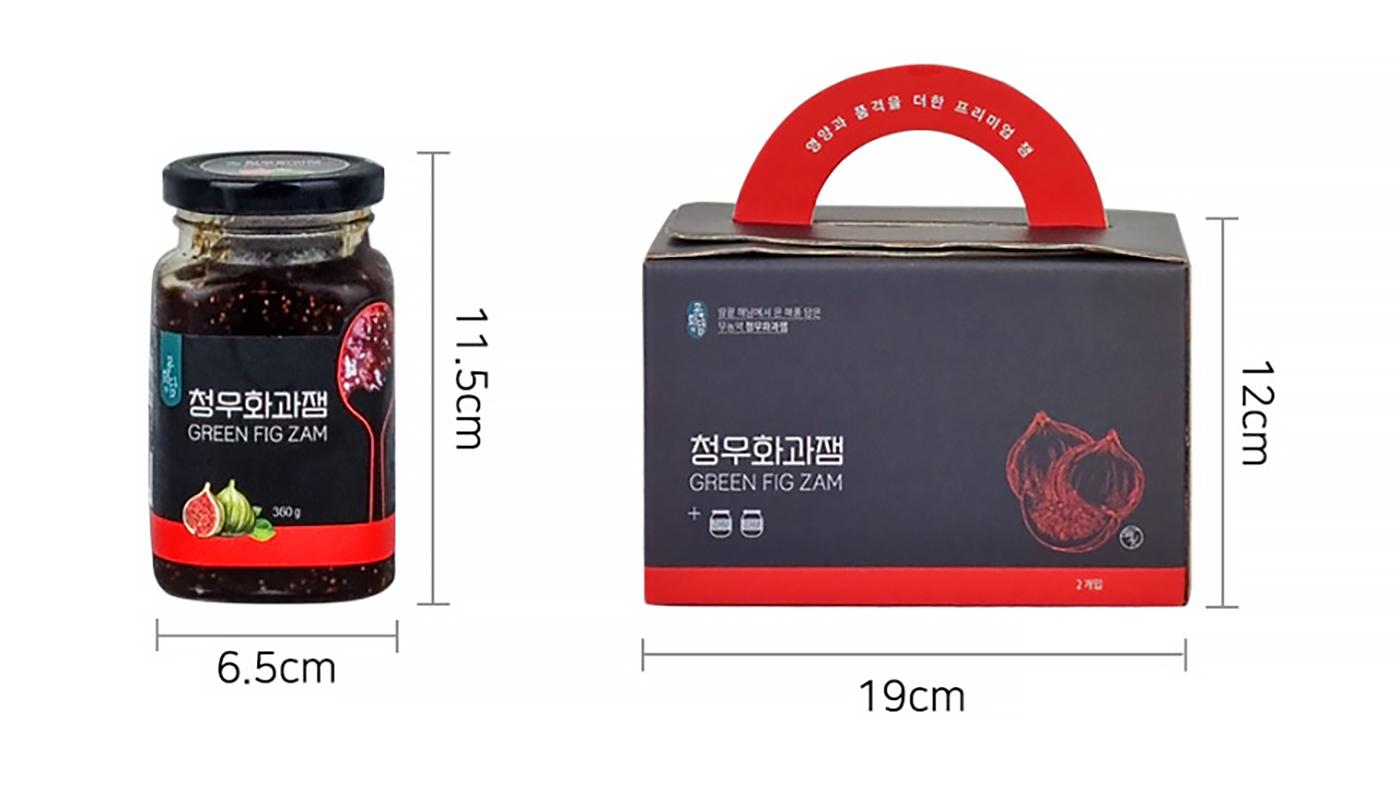 유기농 설탕 청무화과 선물 세트 (360g*2병) 상세이미지5