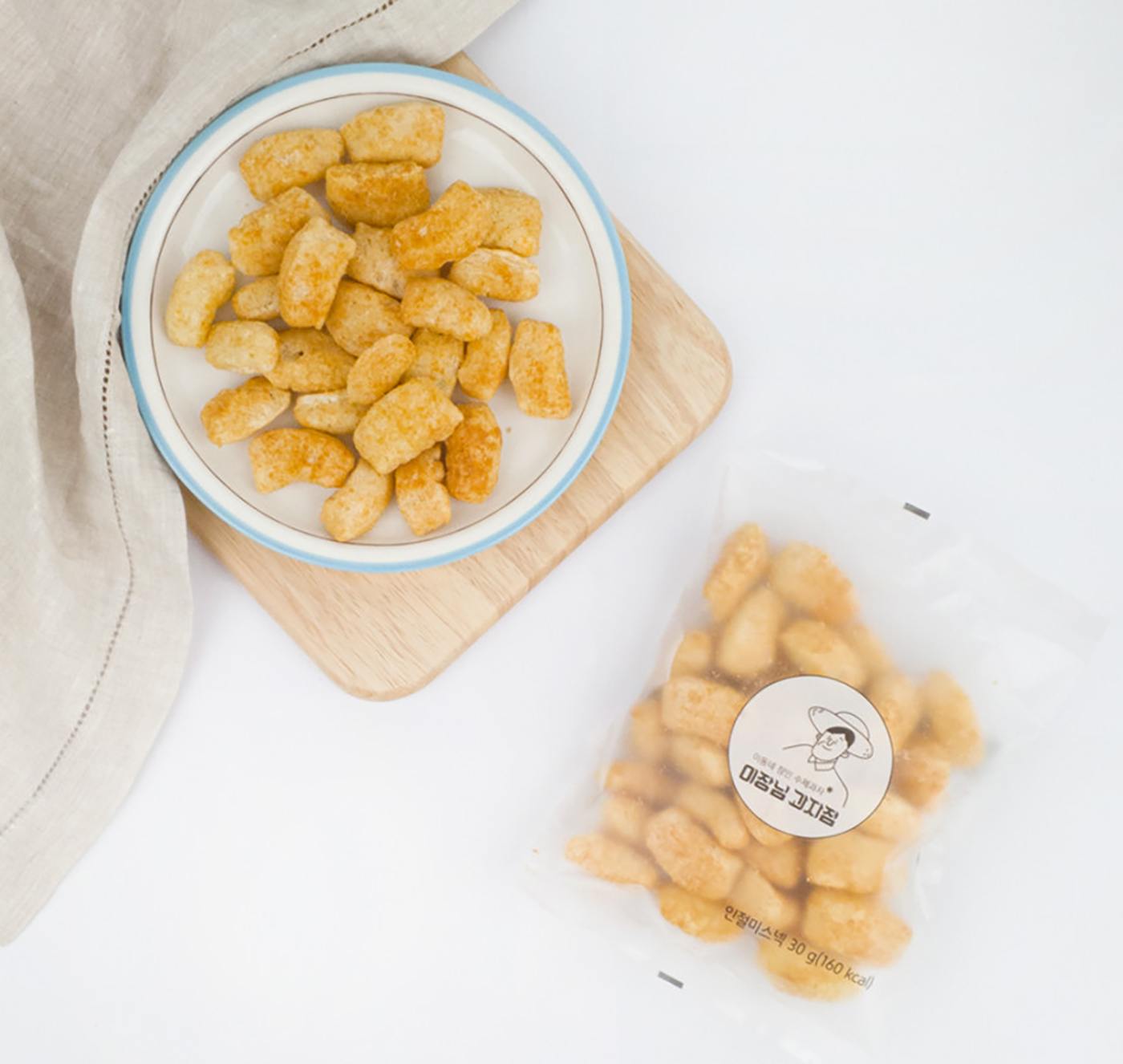 콩가루 인절미 과자(1봉/8봉(SET) 상세이미지2