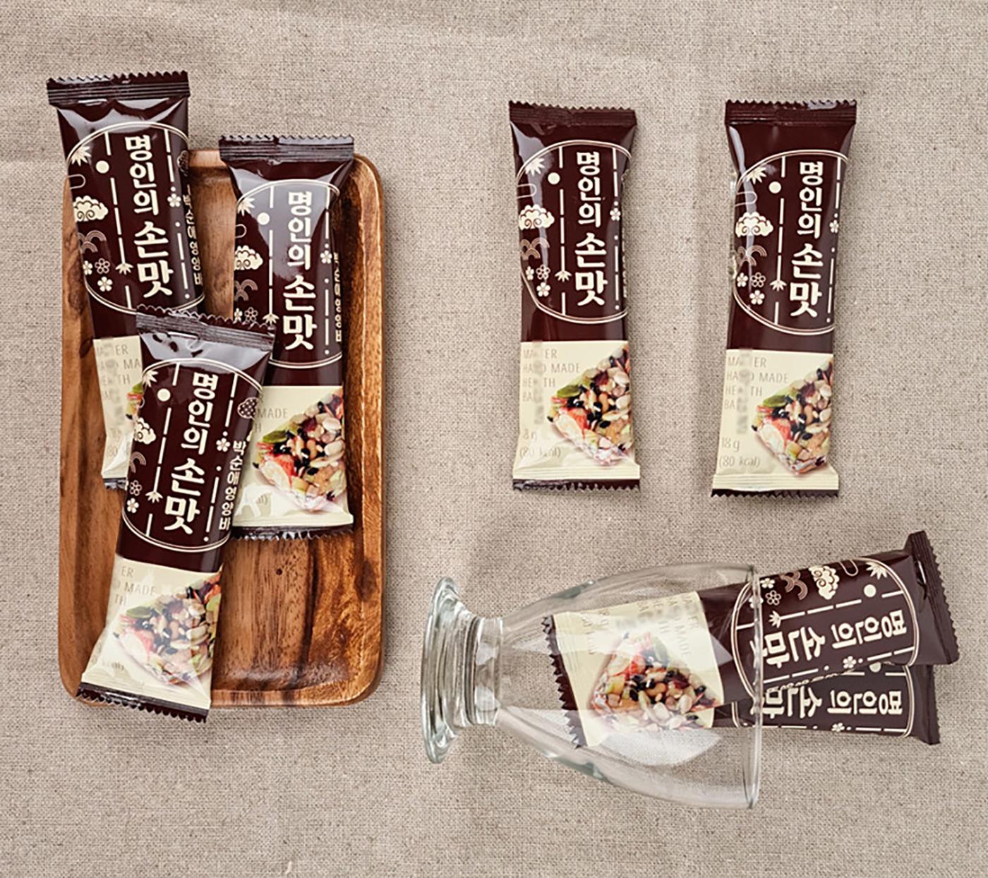 [박순애 명인] 수제 견과 유기농 영양바 세트(30개입) 상세이미지3