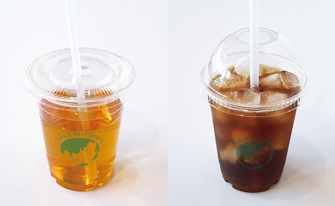 옥수수로 만든 생분해 일회용 아이스컵(50개) 상세이미지3