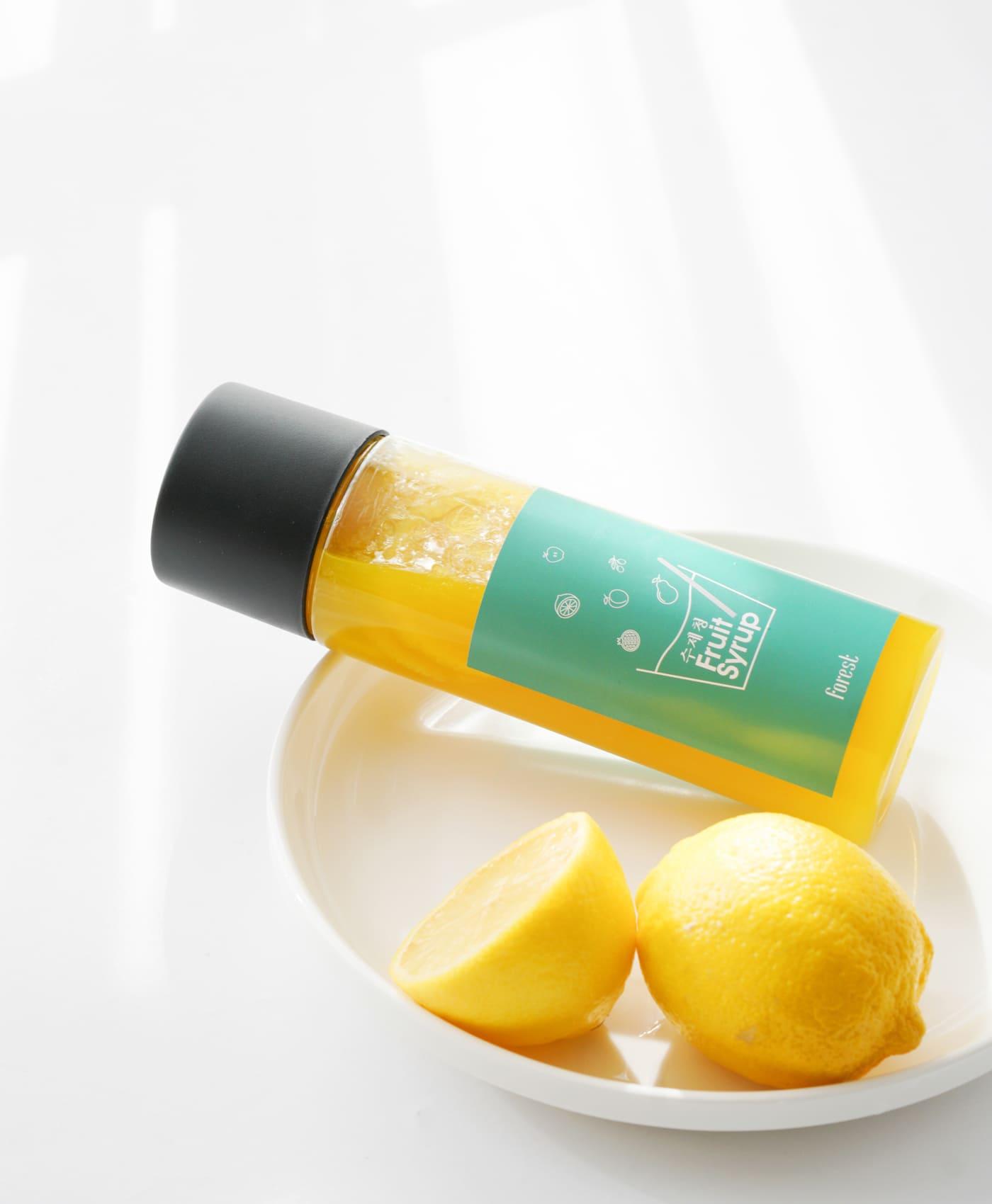 포레스트(화담) 수제 과일청 레몬청,레몬생강청,블루베리청,딸기청,자몽청 상세이미지2