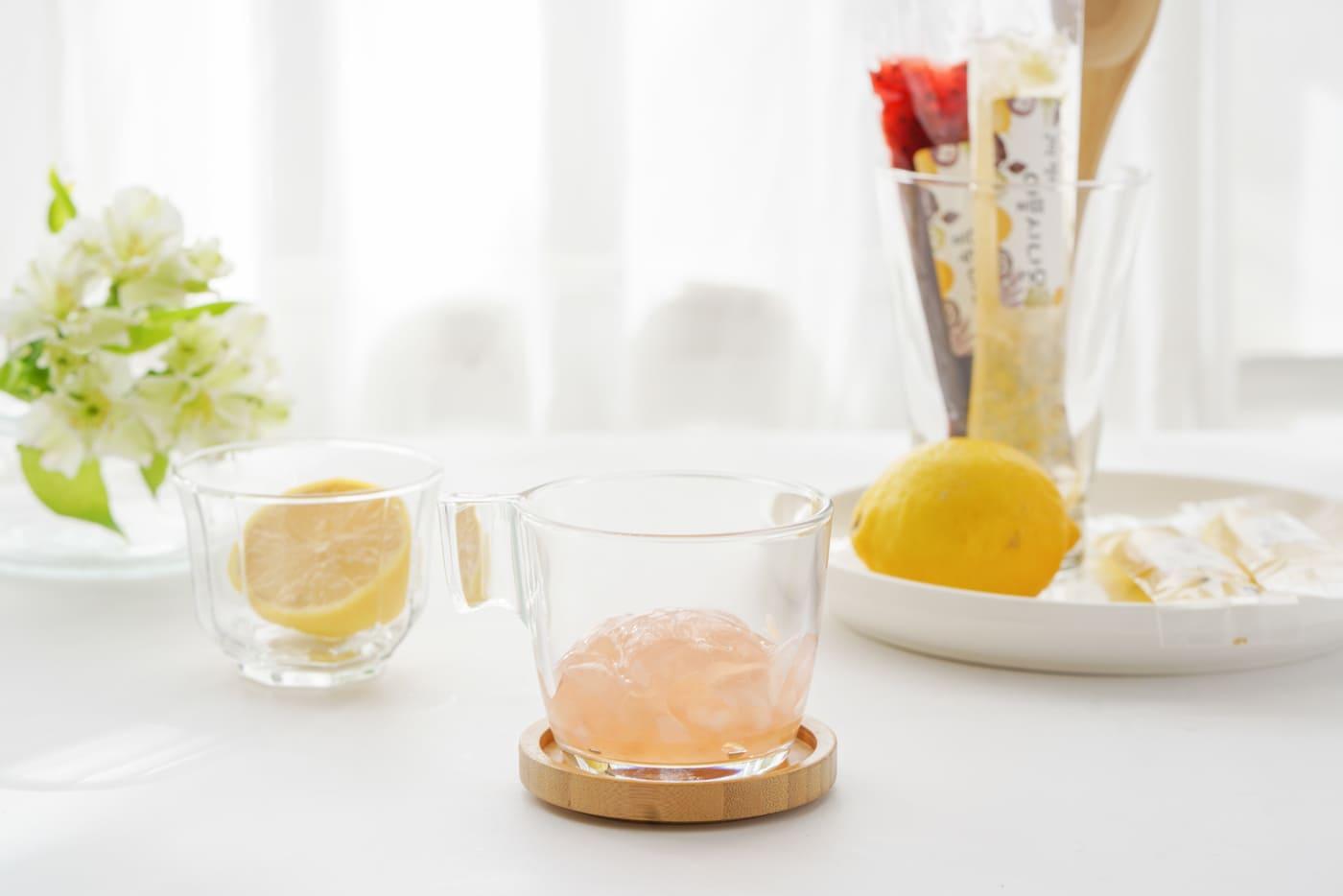 포레스트(화담) 수제 과일 곤약 젤리 세트/자몽,블루베리,애플시나몬,백향과 상세이미지1