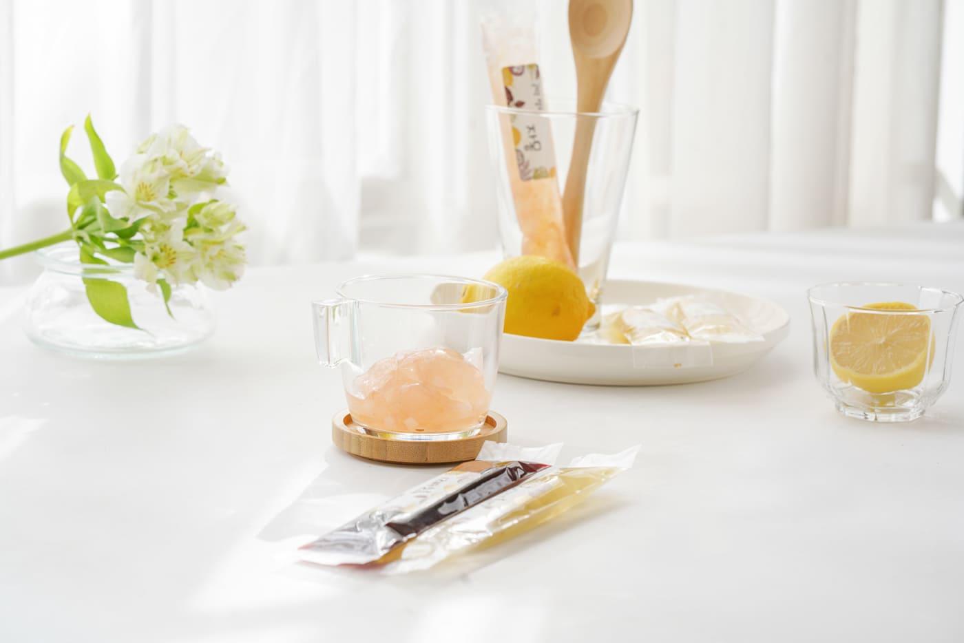 포레스트(화담) 수제 과일 곤약 젤리 세트/자몽,블루베리,애플시나몬,백향과 상세이미지2