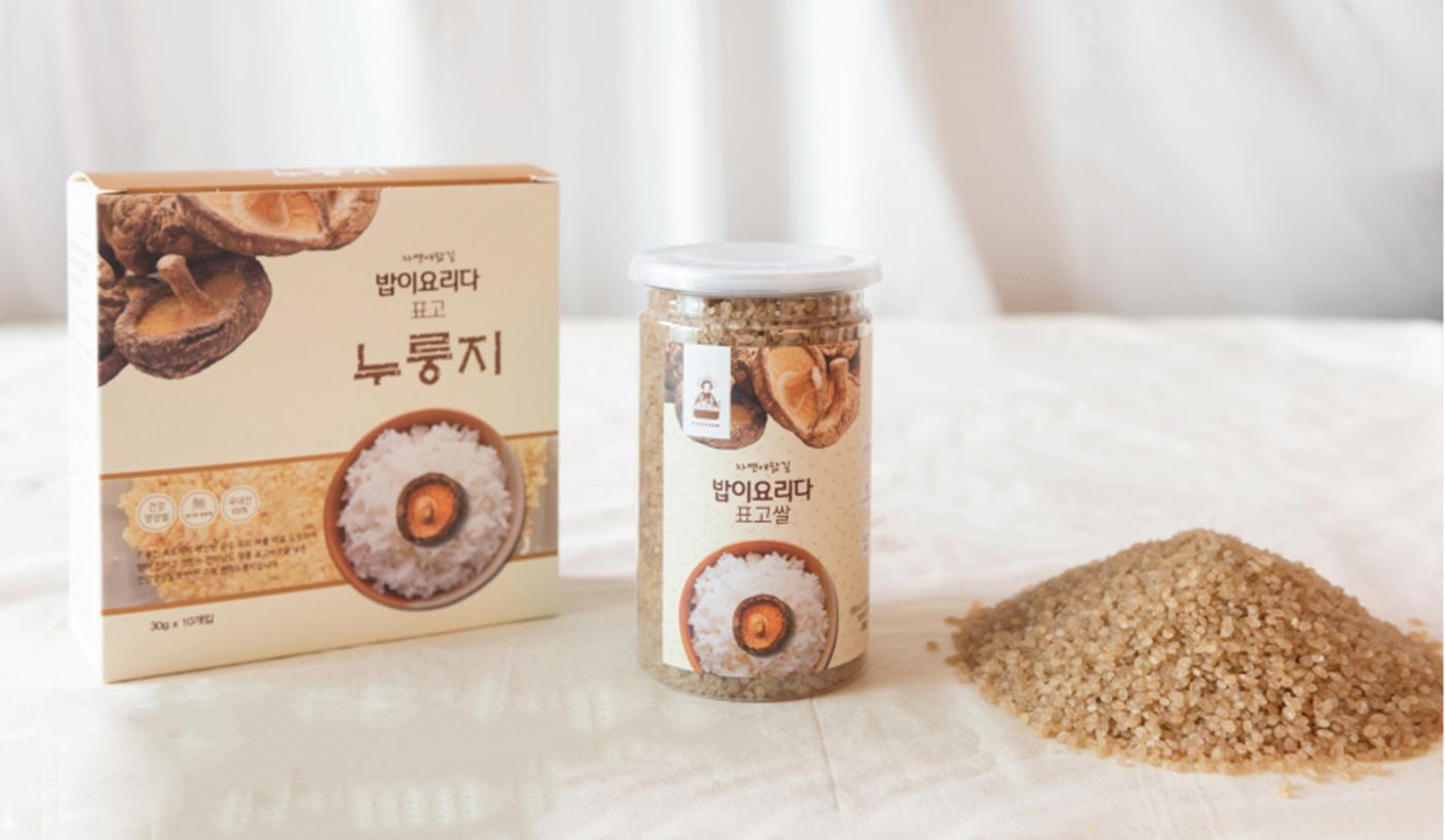 국산 표고쌀 건강 영양쌀 상세이미지1