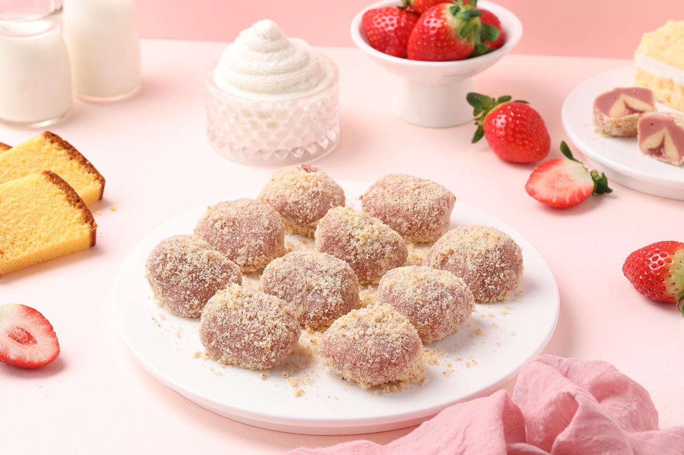 리얼 딸기·초코 치즈케익 떡 세트 상세이미지3