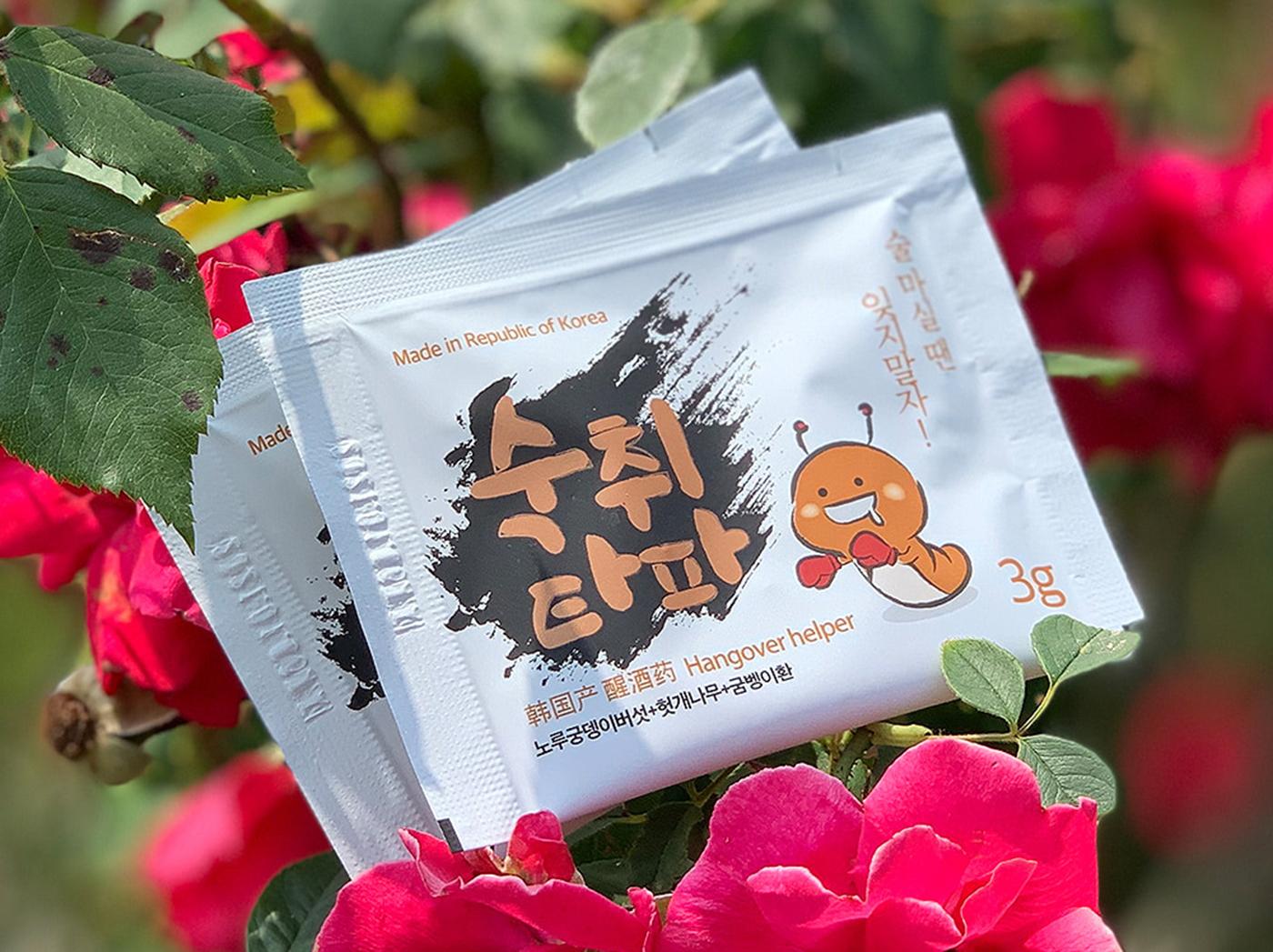 숙취타파 헛개 굼벵이 노루궁뎅이버섯 숙취해소제 상세이미지1