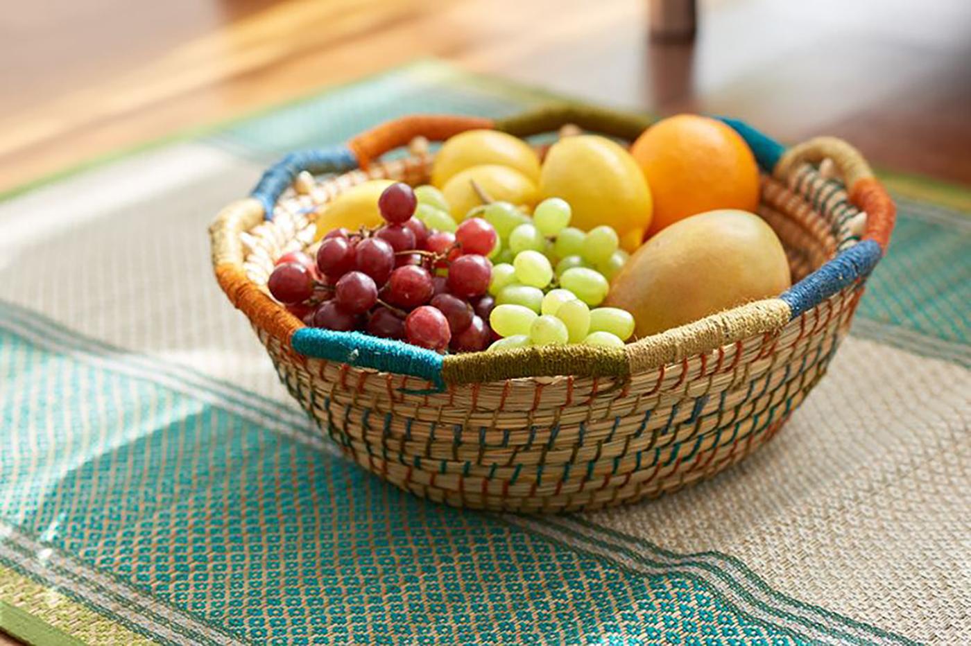 주뜨 과일 바스켓(S/M)/집 안의 좋은 포인트가 되어 주는 감성 바스켓 상세이미지1