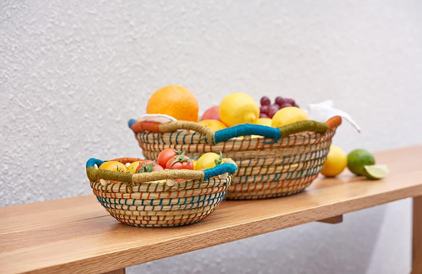 주뜨 과일 바스켓(S/M)/집 안의 좋은 포인트가 되어 주는 감성 바스켓 상세이미지2