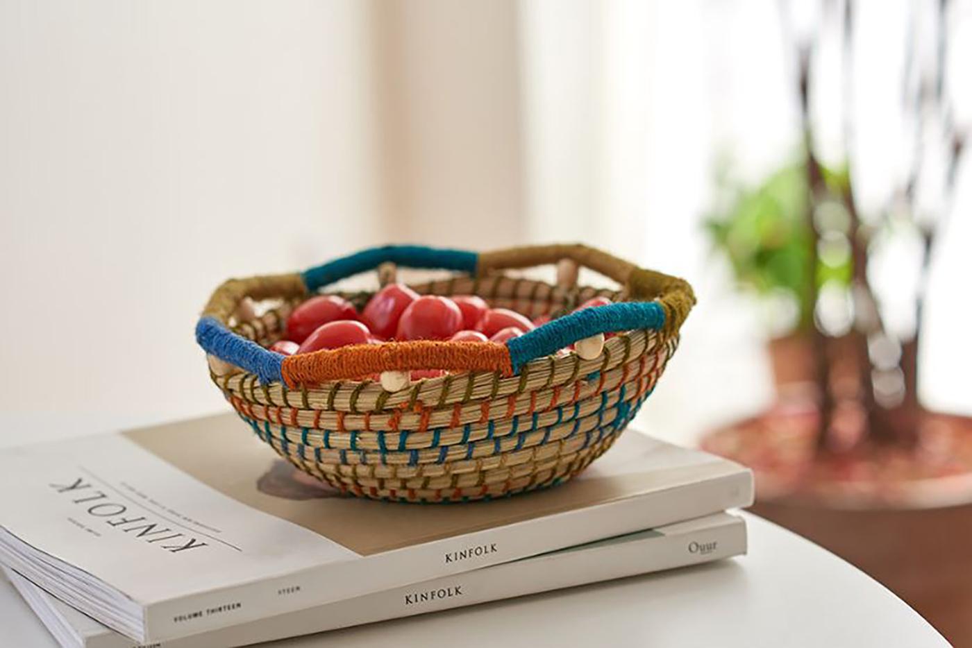 주뜨 과일 바스켓(S/M)/집 안의 좋은 포인트가 되어 주는 감성 바스켓 상세이미지3