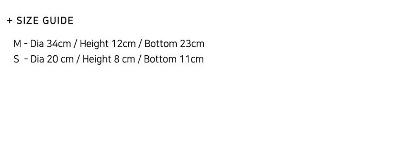 주뜨 과일 바스켓(S/M)/집 안의 좋은 포인트가 되어 주는 감성 바스켓 상세이미지6