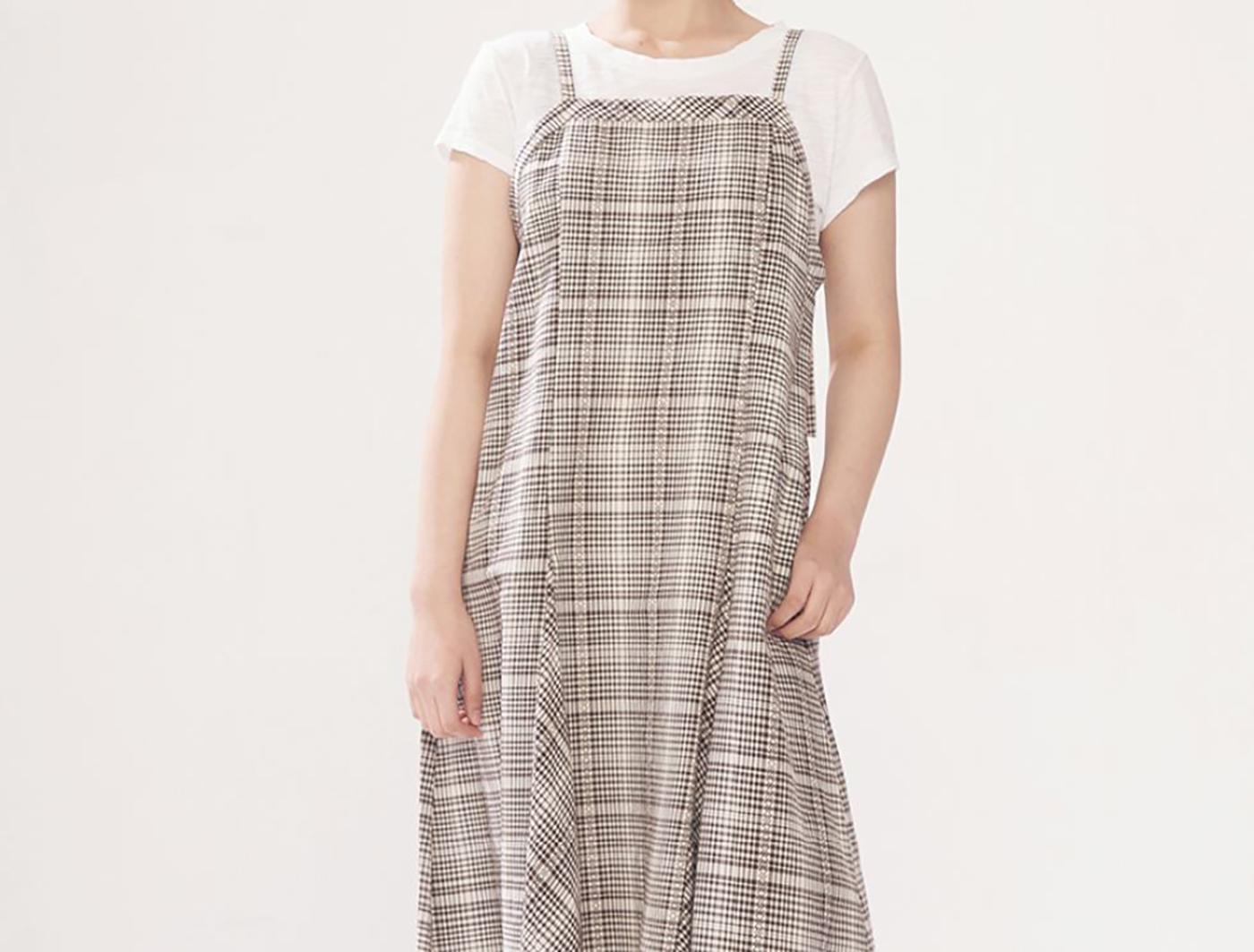 산타페 드레스/넉넉하고 세련된 산타페 드레스 상세이미지1