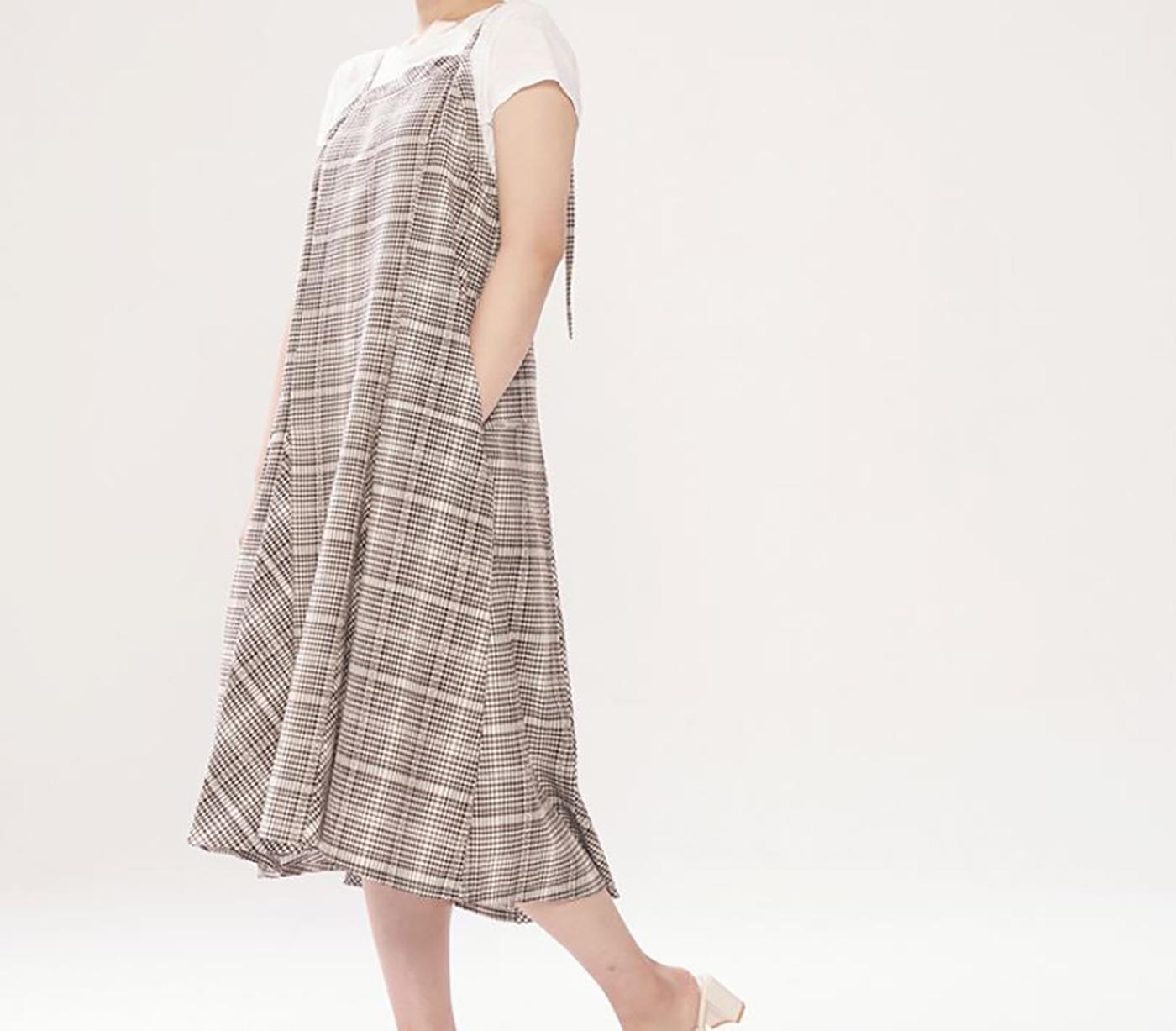 산타페 드레스/넉넉하고 세련된 산타페 드레스 상세이미지4