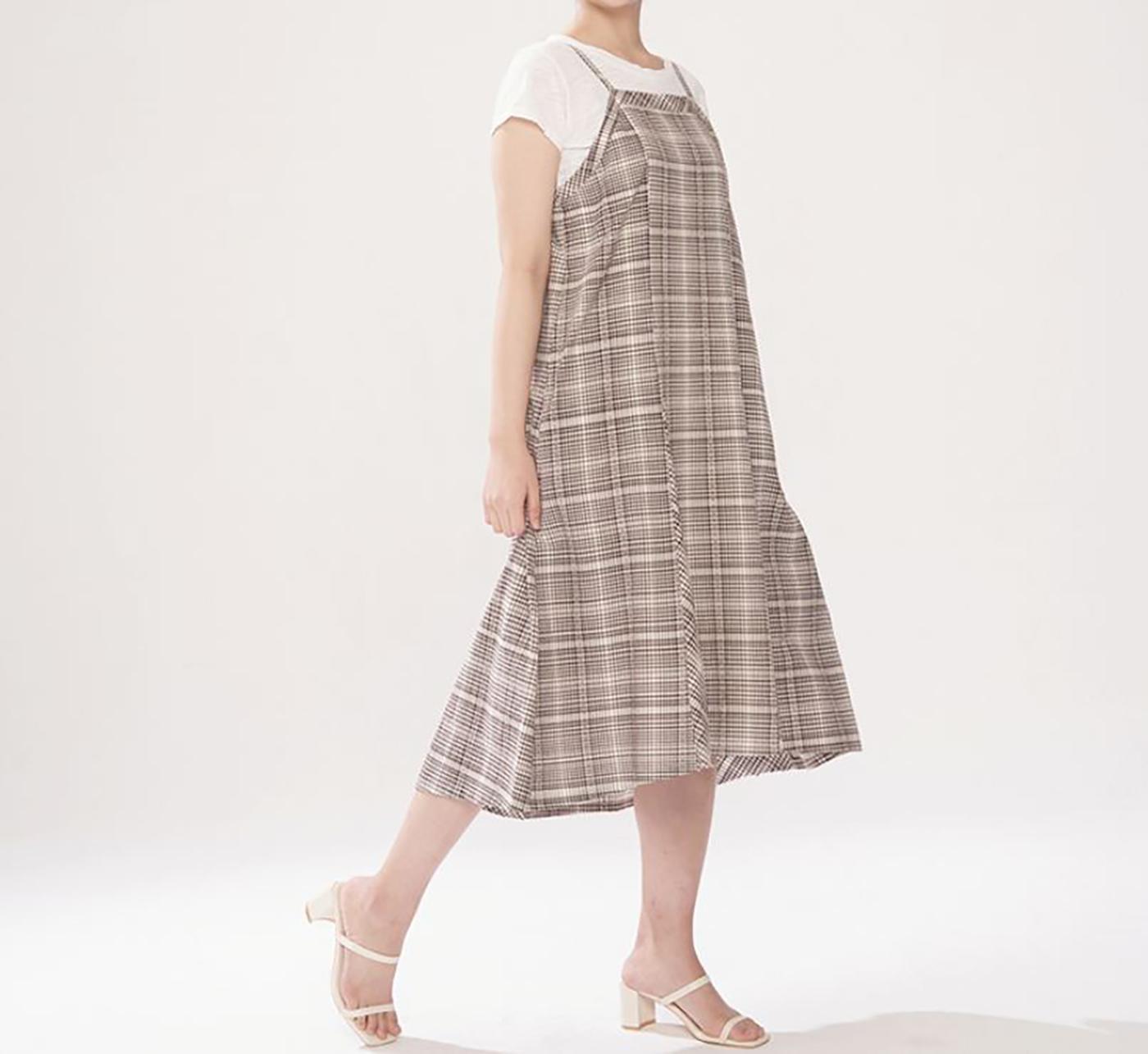 산타페 드레스/넉넉하고 세련된 산타페 드레스 상세이미지5