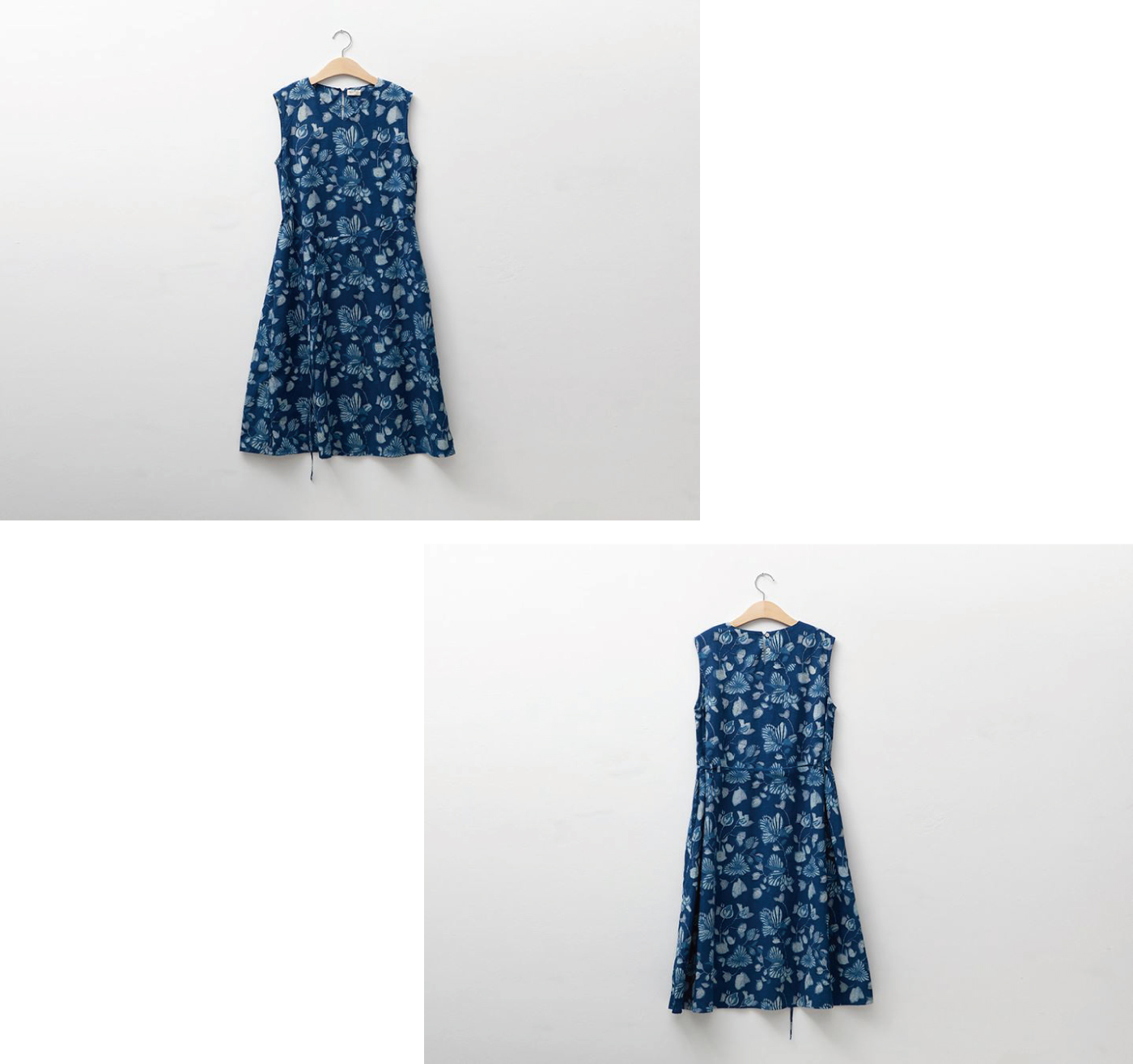 인디고 꽃 민소매 드레스/그루 인디고 꽃 민소매 드레스 상세이미지6