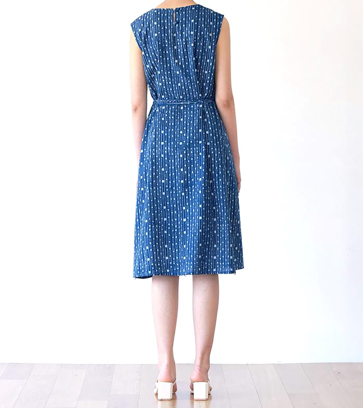 인디고 폼폼 드레스/그루 인디고 폼폼 드레스 상세이미지4