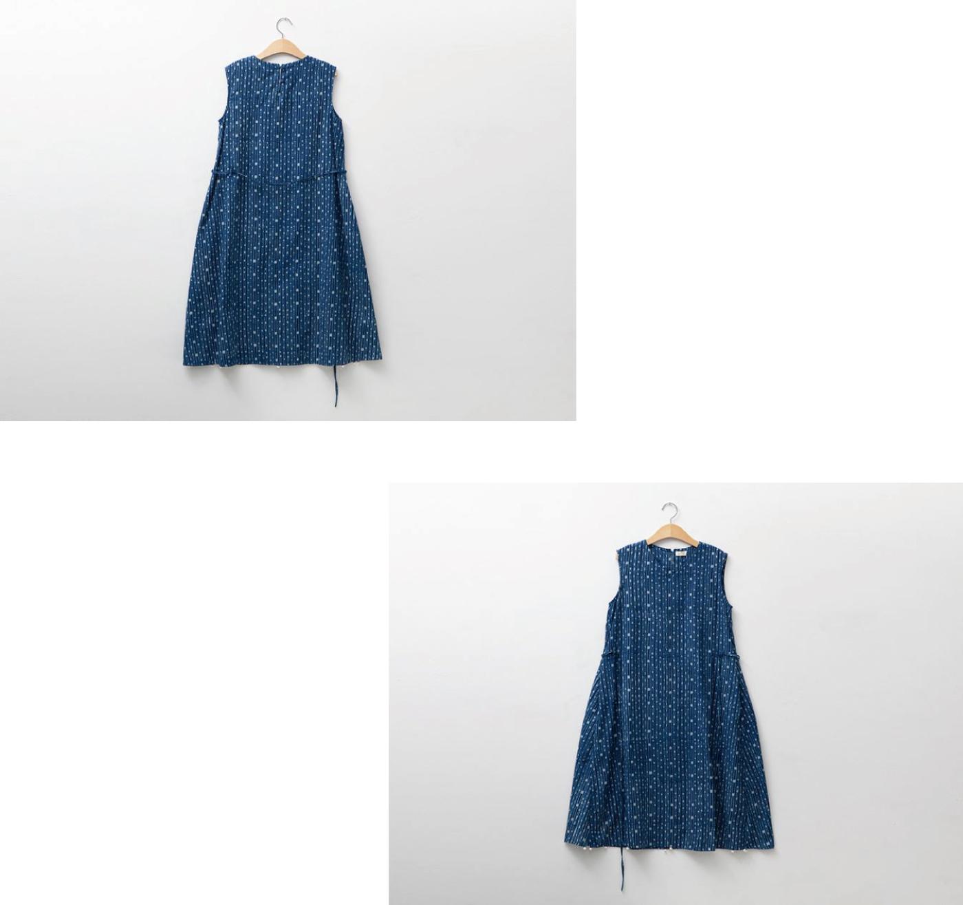 인디고 폼폼 드레스/그루 인디고 폼폼 드레스 상세이미지6