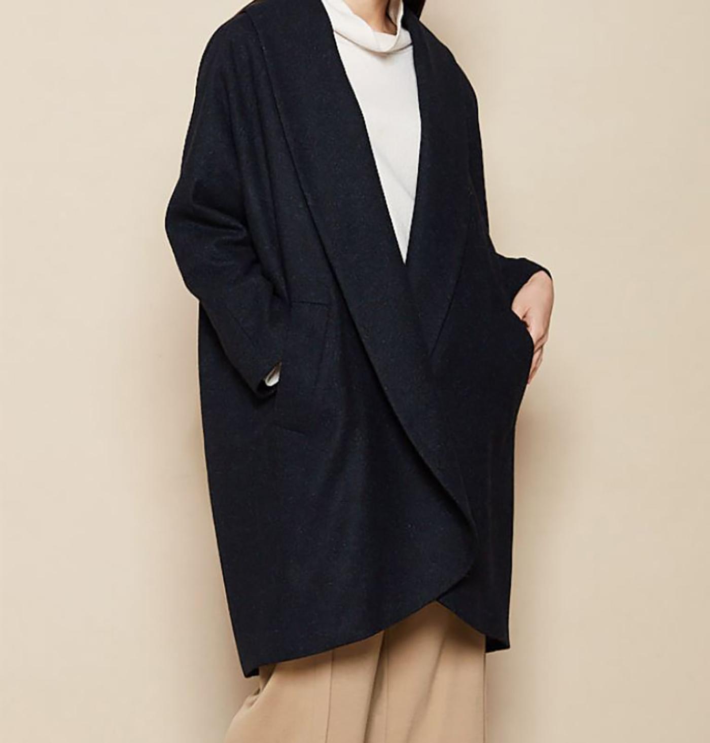 은하수 울실크 코트/요즘 같은 날씨에 입기 딱 좋은 은하수 울실크 코트 상세이미지2