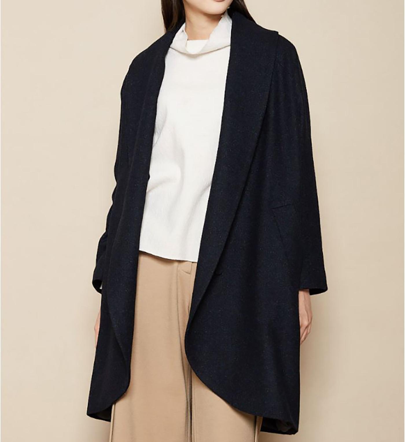 은하수 울실크 코트/요즘 같은 날씨에 입기 딱 좋은 은하수 울실크 코트 상세이미지3
