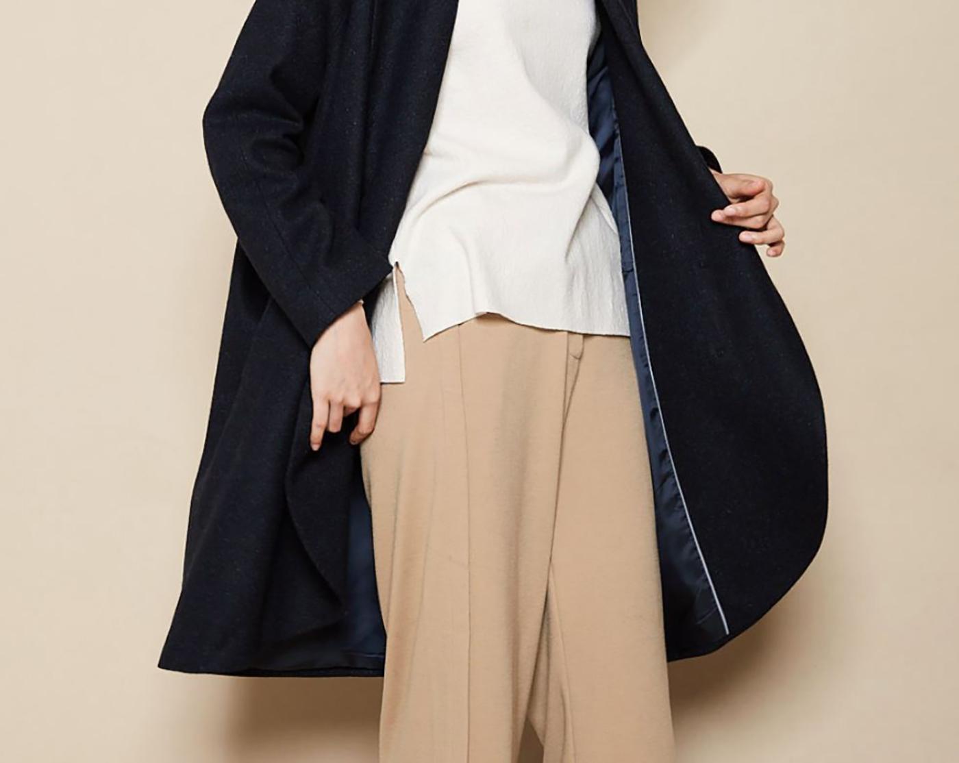 은하수 울실크 코트/요즘 같은 날씨에 입기 딱 좋은 은하수 울실크 코트 상세이미지4