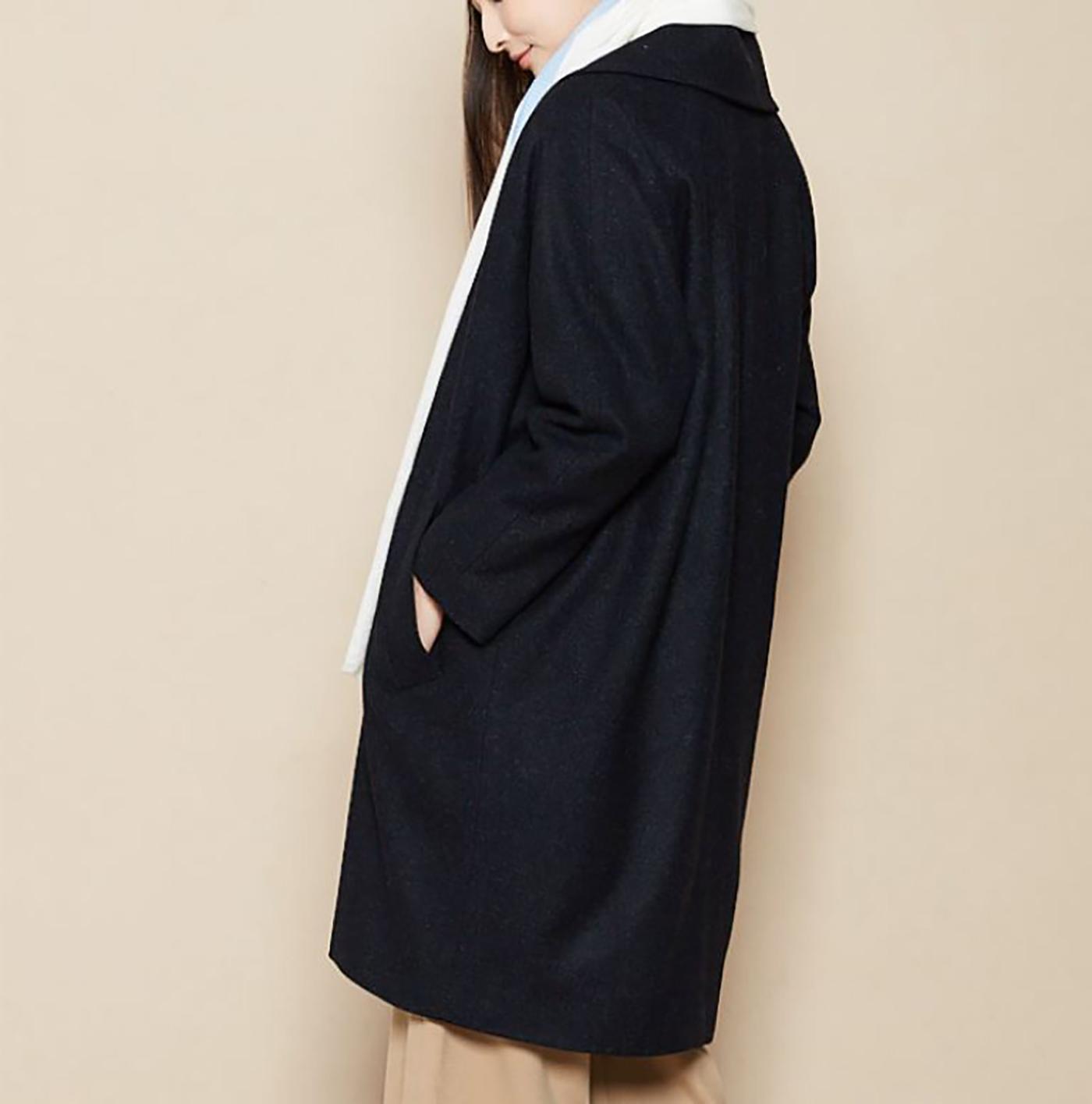 은하수 울실크 코트/요즘 같은 날씨에 입기 딱 좋은 은하수 울실크 코트 상세이미지5