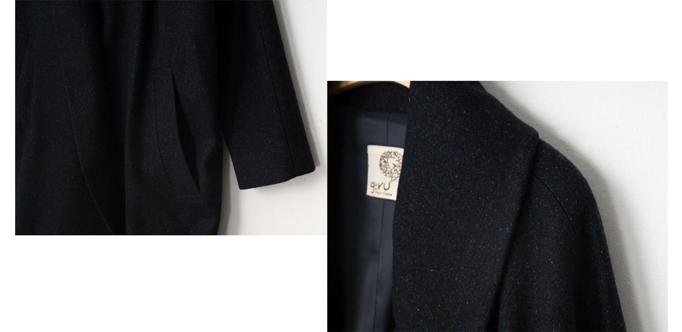 은하수 울실크 코트/요즘 같은 날씨에 입기 딱 좋은 은하수 울실크 코트상세이미지7