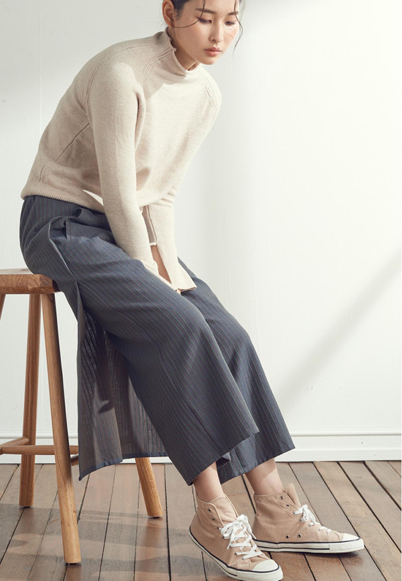 솔 백 랩 팬츠(Sol Back Wrap Pants) 상세이미지5