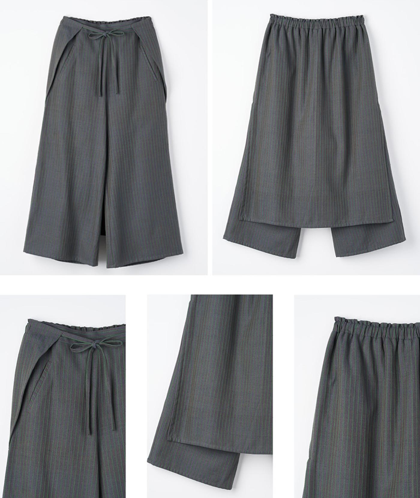 솔 백 랩 팬츠(Sol Back Wrap Pants) 상세이미지8