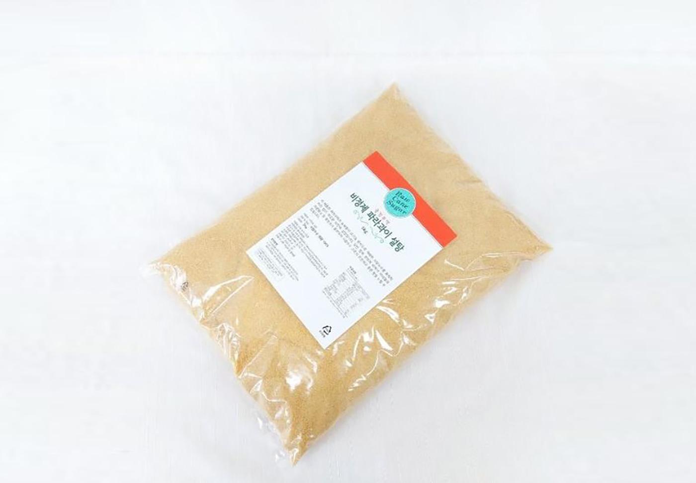 비정제 사탕수수 파라과이 설탕 유기농 원당(500g/1kg/5kg)/공정무역 유기농 비정제 설탕/사탕수수100% 화학처리NO/친환경 재배 상세이미지1