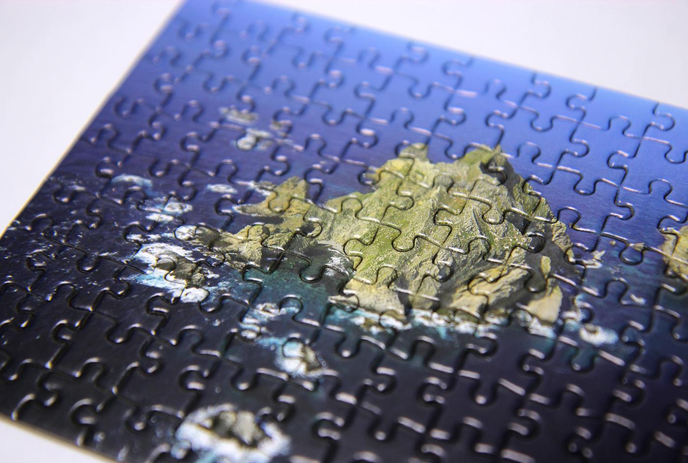 하늘에서 바라본 독도(여름) 108피스 미니 퍼즐 상세이미지3
