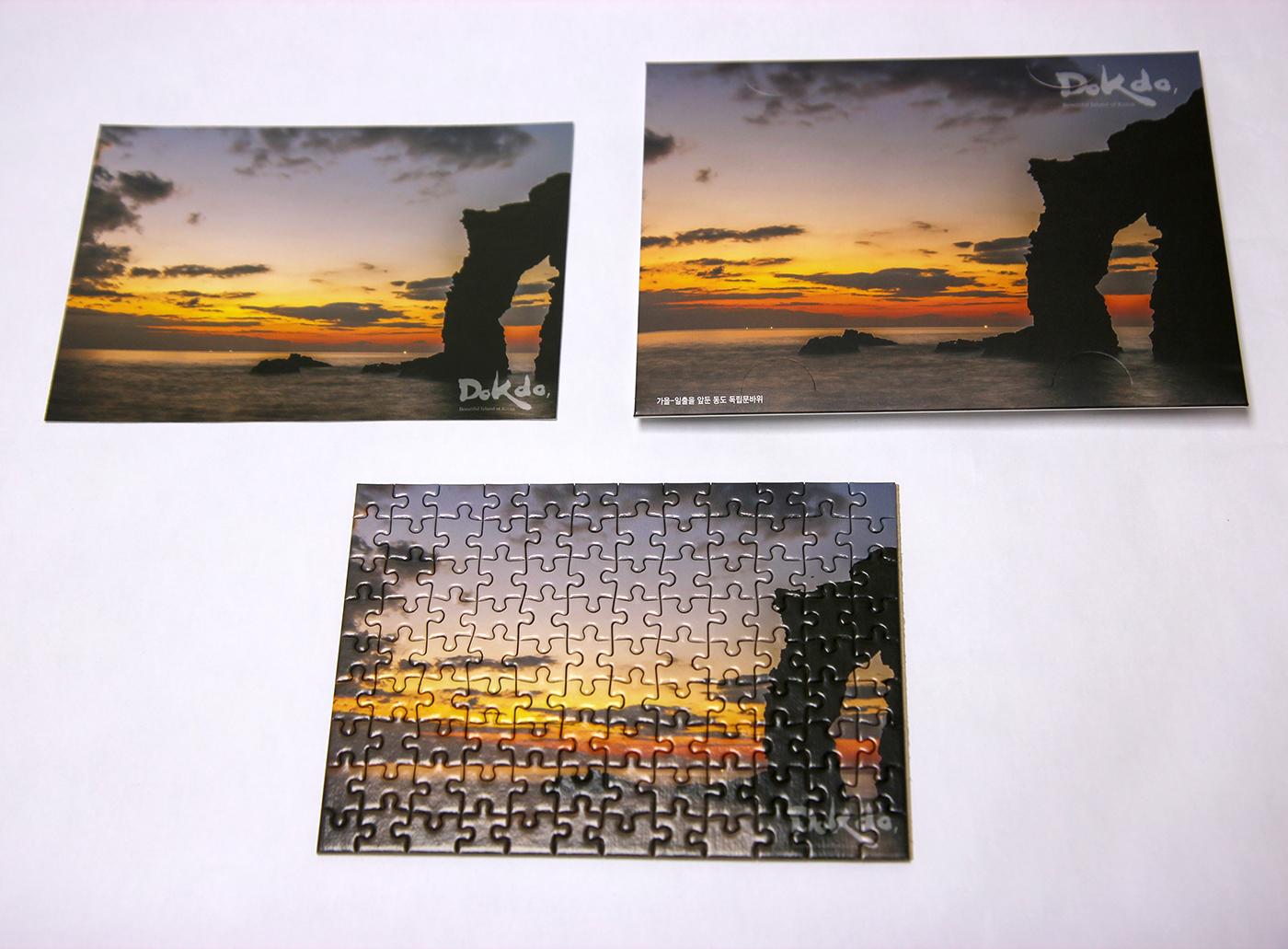 동도 독립문바위(가을 독도) 108피스 미니 퍼즐 상세이미지8