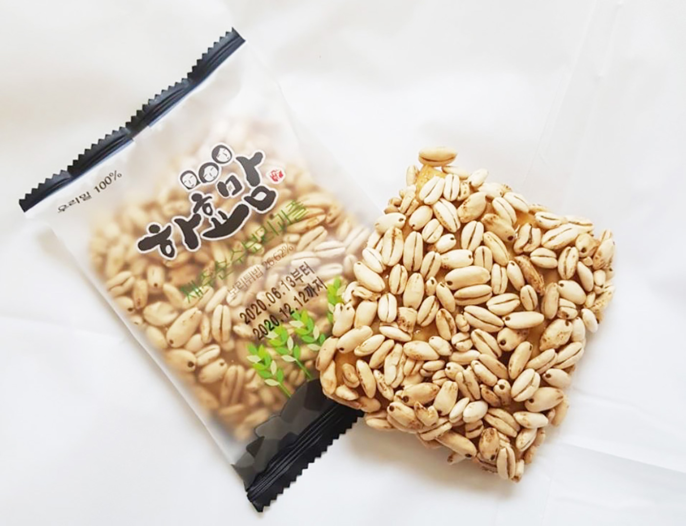 제주 보리과즐/청정 우리밀 100% 제주 전통 과자(35g*8개입)  상세이미지3